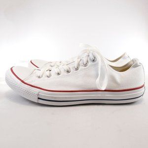 Converse All Star White Low Top Sneakers - M10/W12